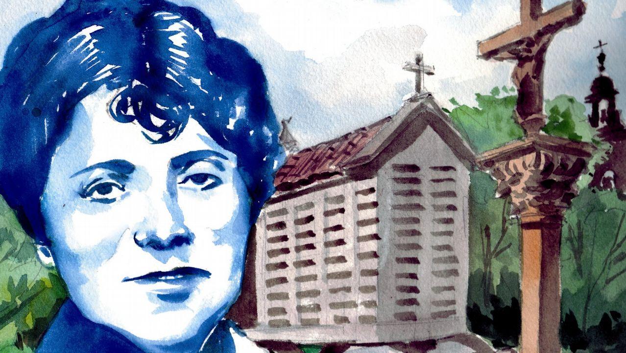 Oviedo por la iguadad.Isabel Carrera, directora del Máster de Igualdad de la Universidad de Oviedo