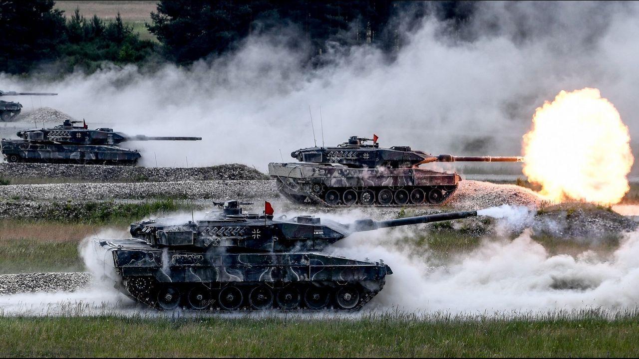 .Maniobras de la OTAN en Alemania