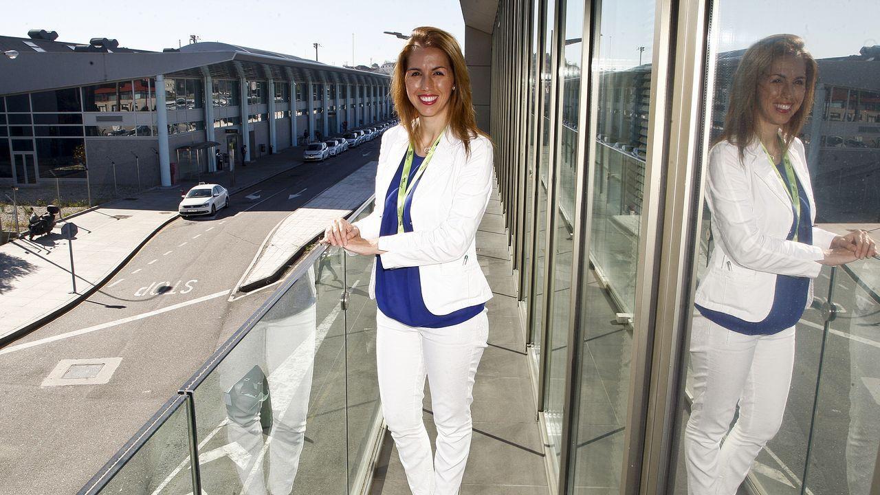 La nueva directora de Peinador se propone recuperar el vuelo a París y abrir rutas con Alemania.