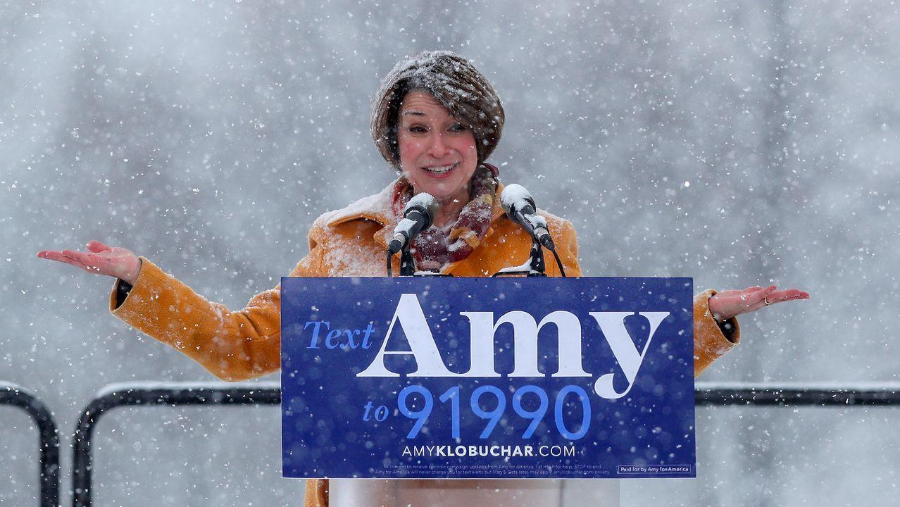 Amy Klobuchar, harta del magnate Trump
