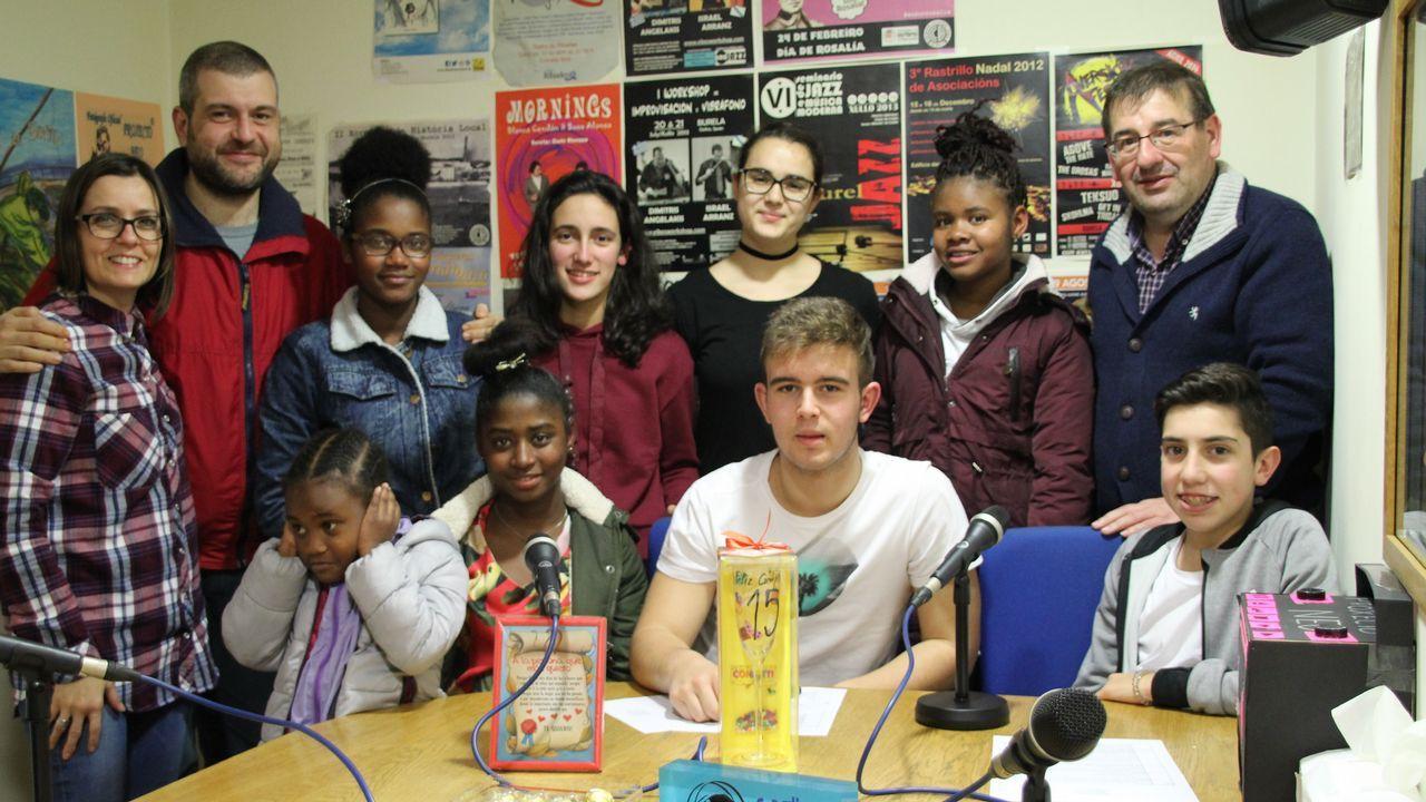Proxecto Neo, de colaboración entre Radio Burela y la área de Innovación Educativa del IES O Perdouro, para fomentar la integración, entre otros, de la comunidad caboverdiana