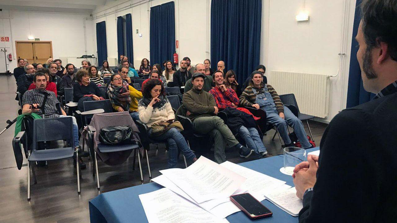 Reunión fundacional de la Academia del Cine Asturiano.Reunión fundacional de la Academia del Cine Asturiano