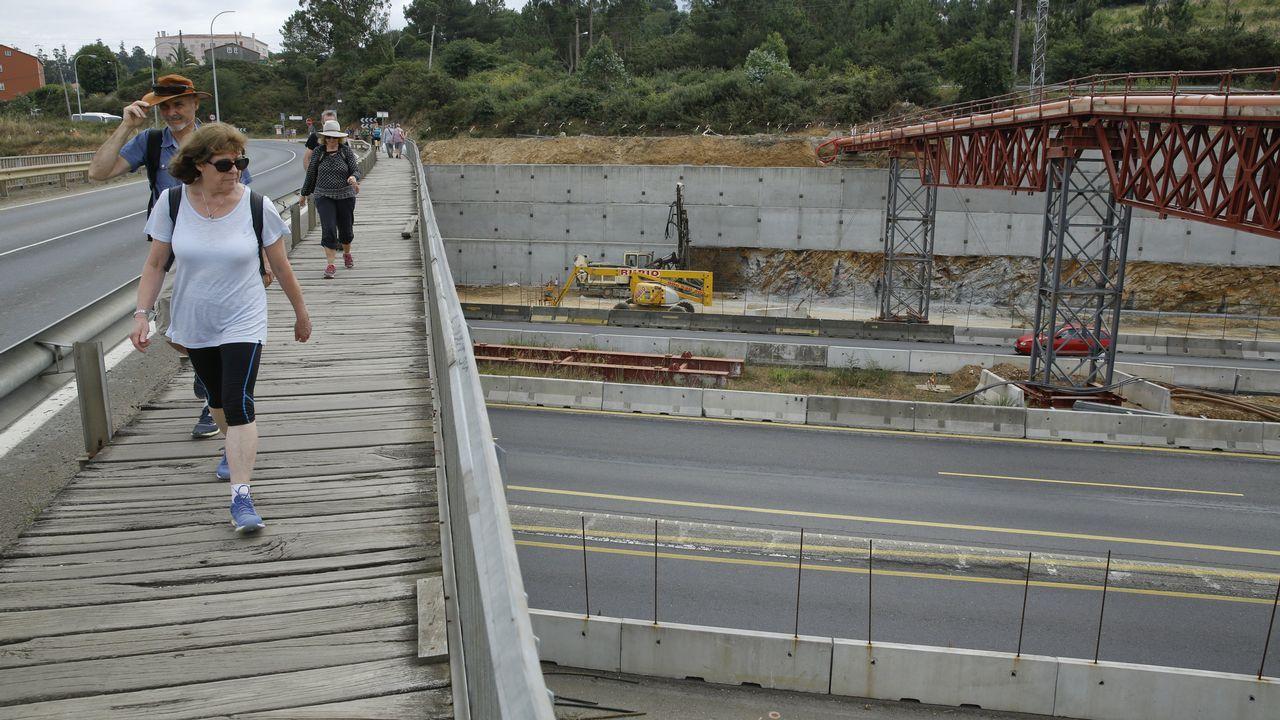 La demolición del puente de San Lázaro desviará el tráfico y el Camino Francés