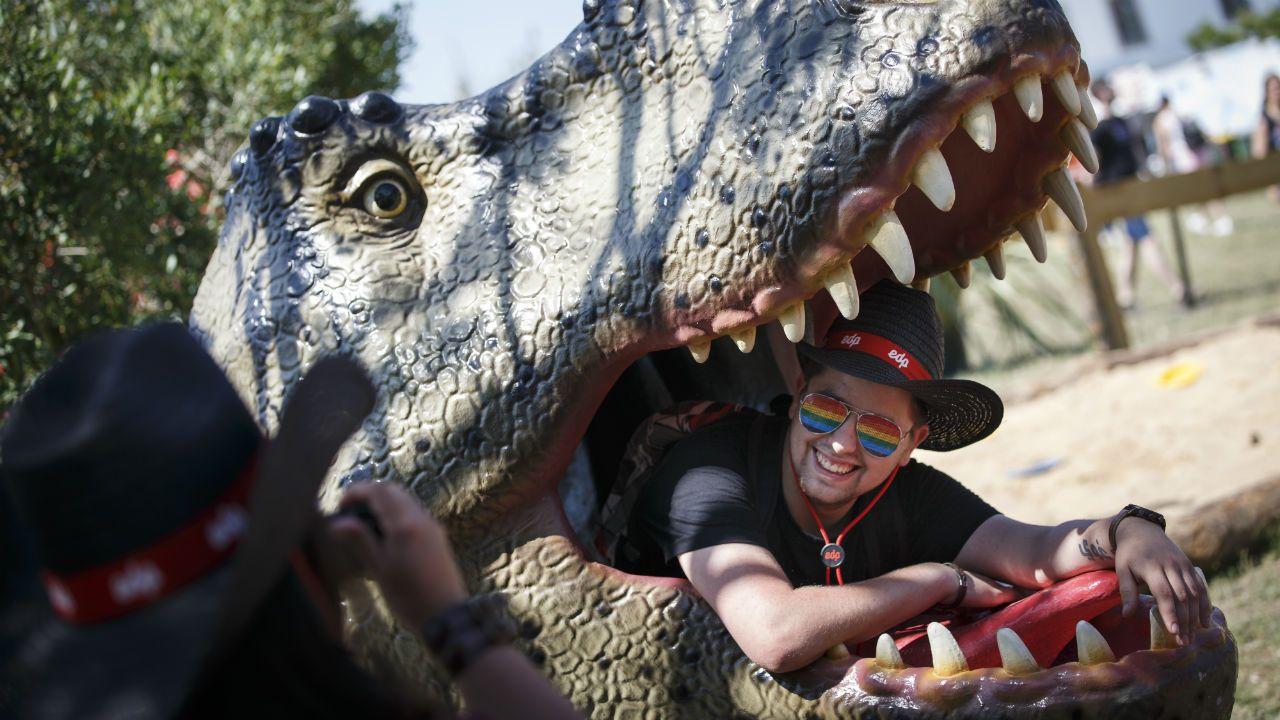 Dinopark en el Rock in Rio Lisboa