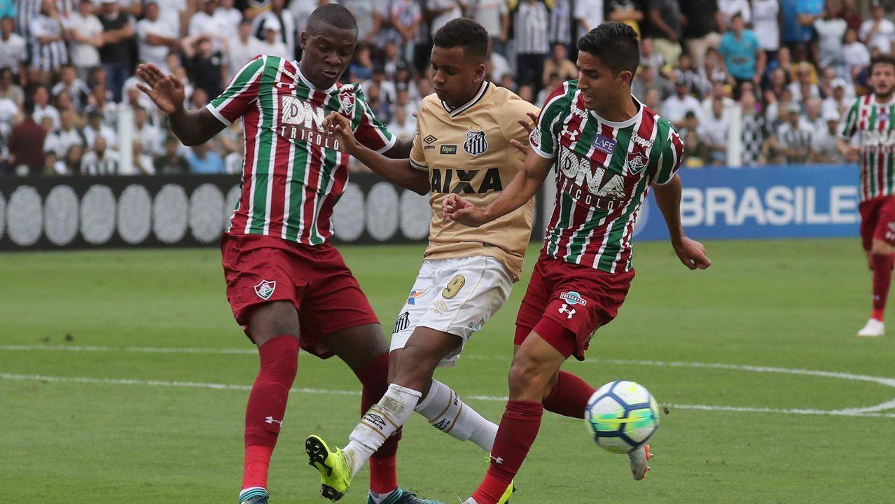 Rodrygo: 54 millones.  También brasileño y de 18 años, aguarda en el Santos el momento de incorporarse