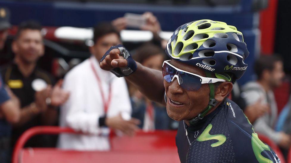 Los premios Feroz, en imágenes.Nairo Quintana celebra su triunfo en Lagos de Covadonga