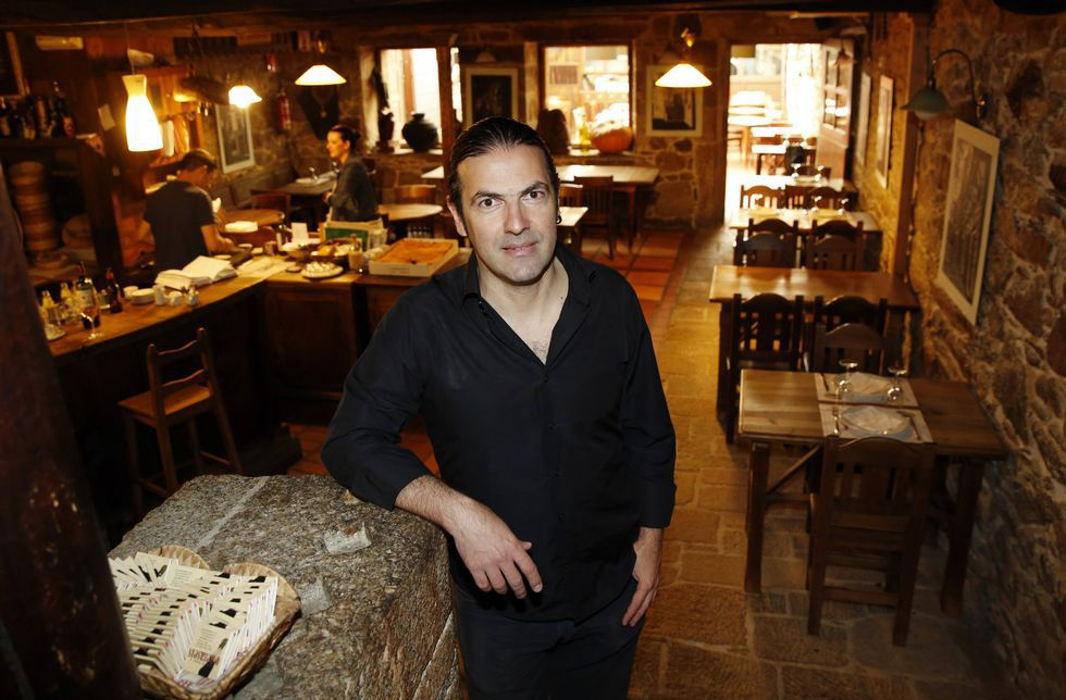 Edelstein, en O Dezaséis, un restaurante del que destaca «la onda que tienen».