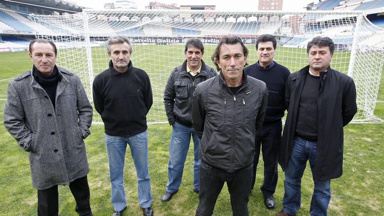 Algunos de los protagonistas de aquella temporada, reunidos por La Voz en el 2011