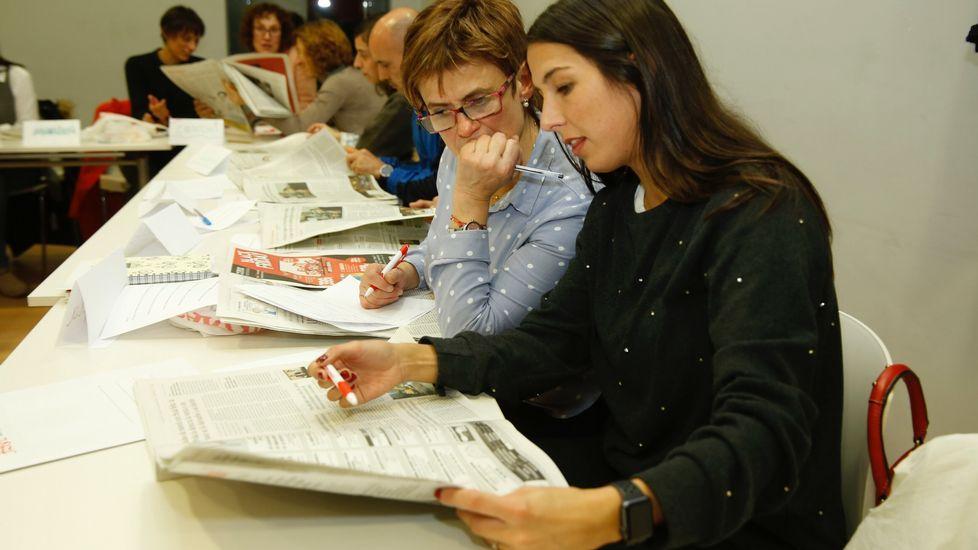 Durante el curso para profesores que ofrece el Programa Prensa-Escuela en Santiago, los asistentes dieron las claves de para qué sirve la noticia
