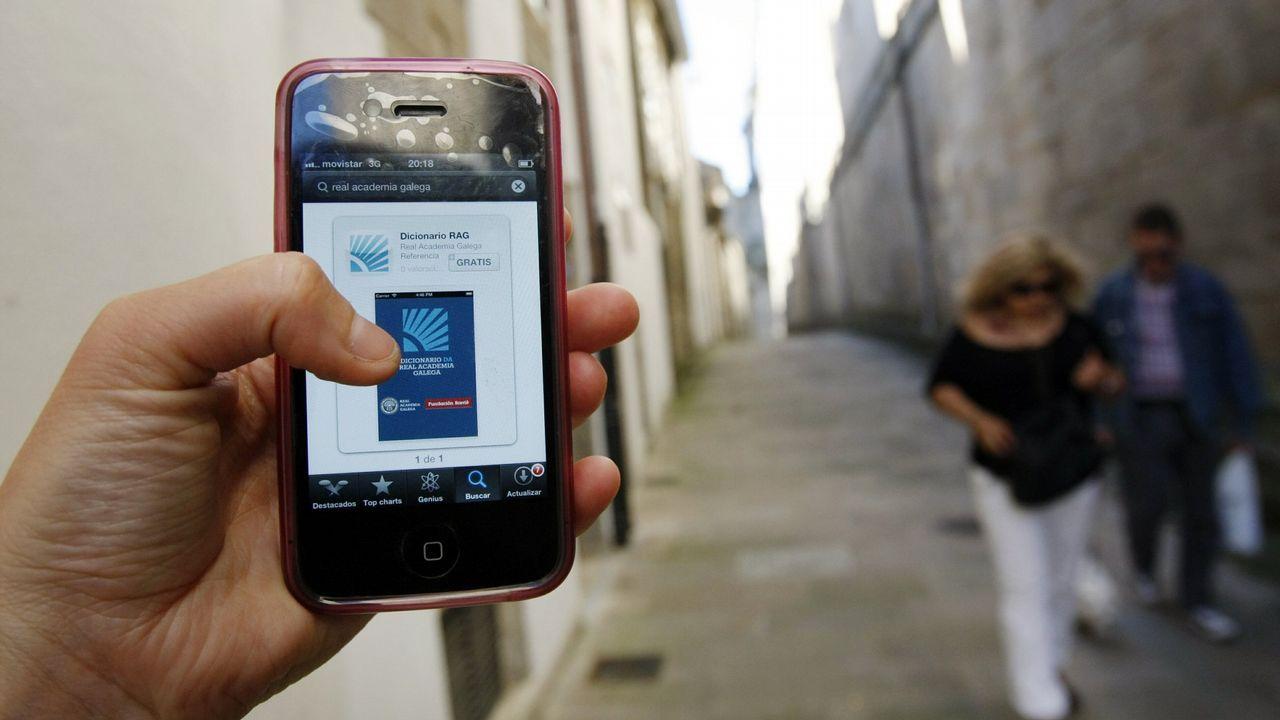 O Dicionario da RAG pode consultarse en liña ou instalar en dispositivos móbiles