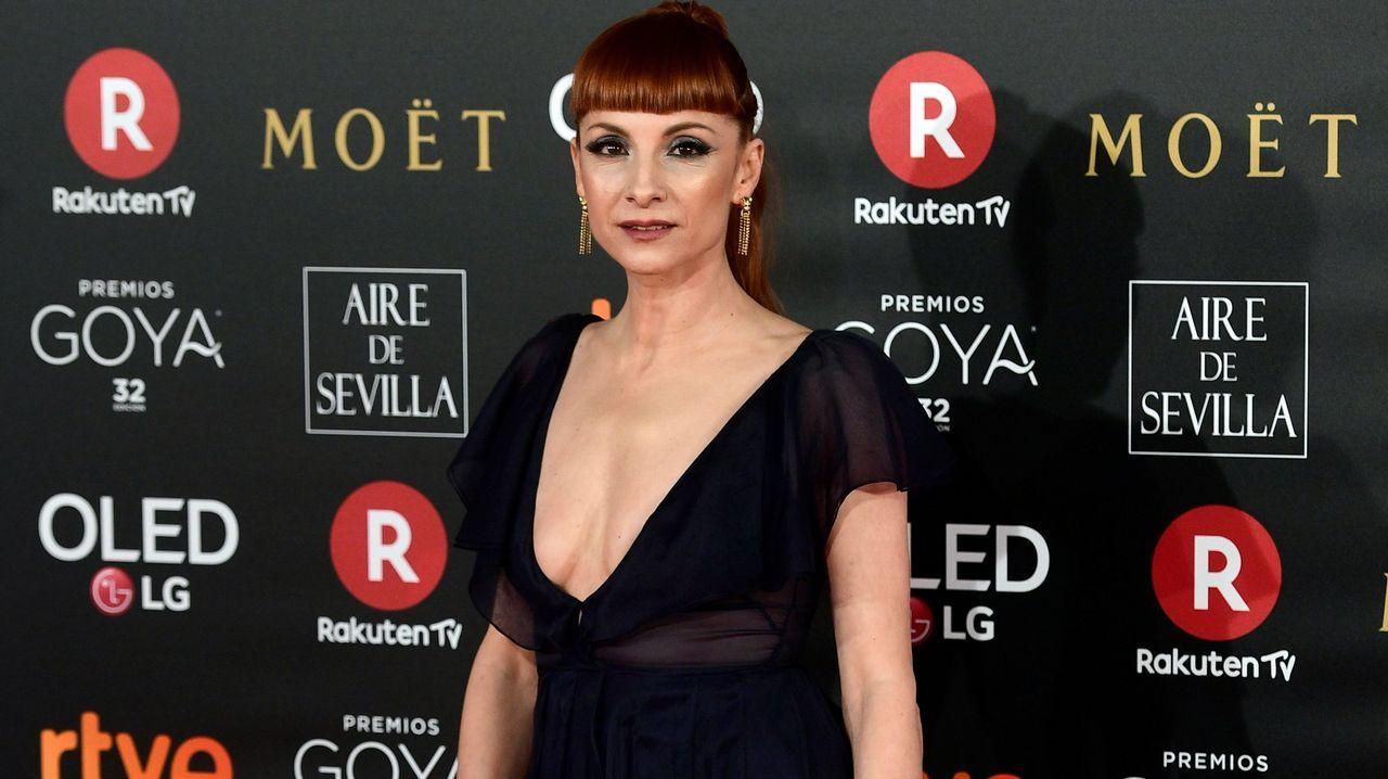 .La actriz española Najwa Nimri