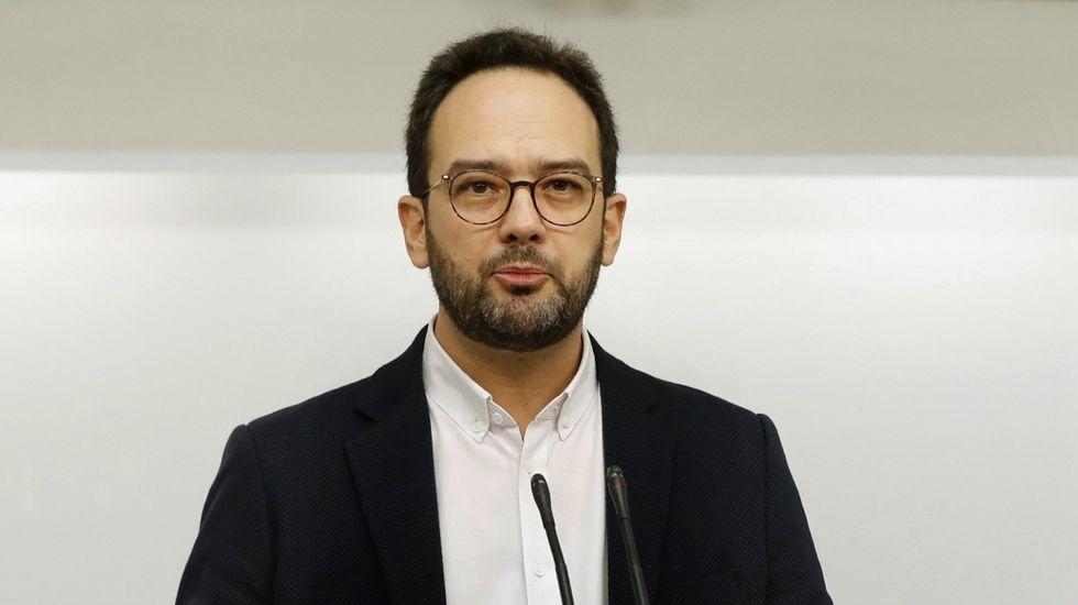 Iglesias hace un alegato por la unidad.Errejón, este sábado en Málaga