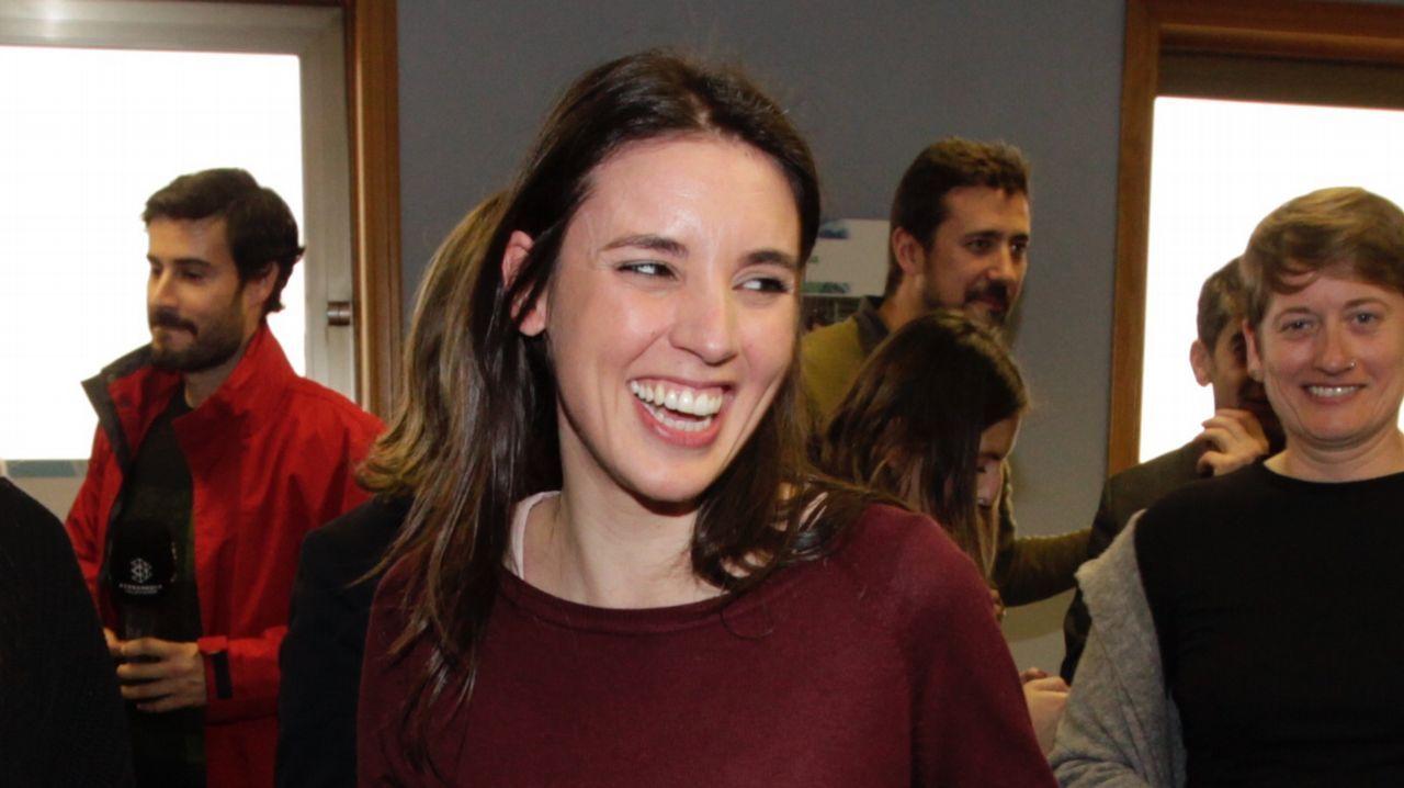 Irene Montero, en Vigo
