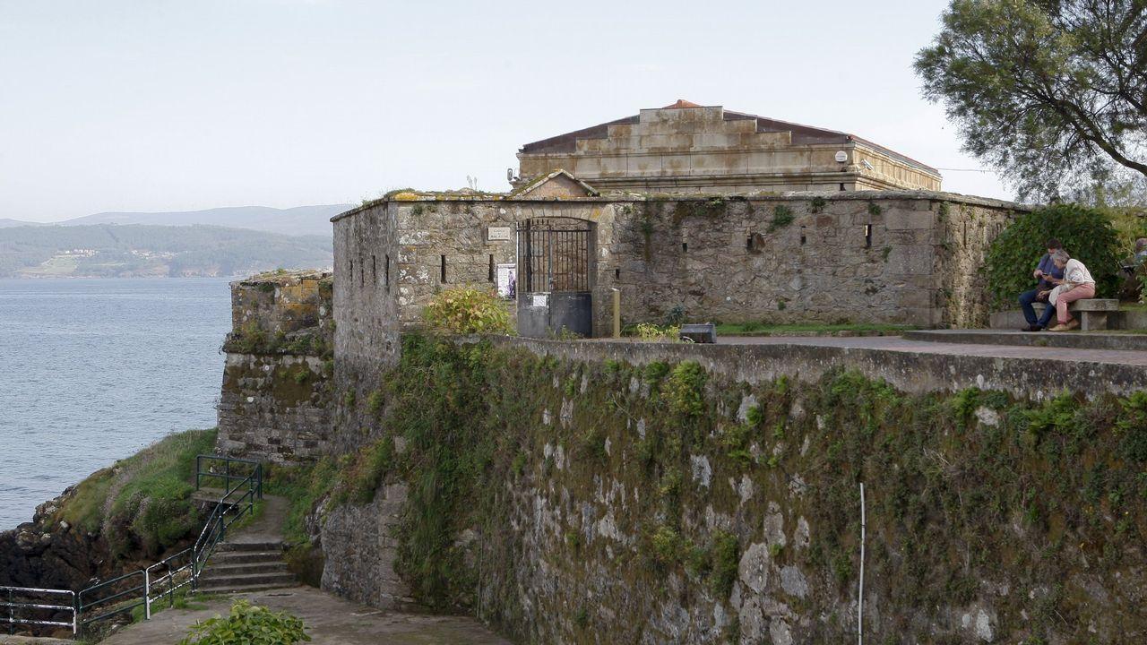 Castillo de San Carlos, Fisterra.