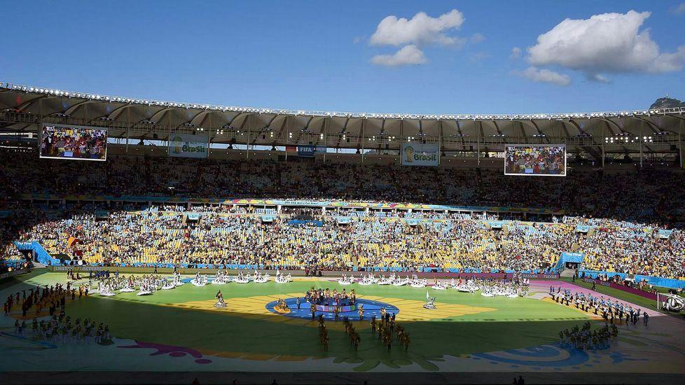 Kaoma «Chorando se foi (Lambada)».Maracana, en la final del Mundial 2014