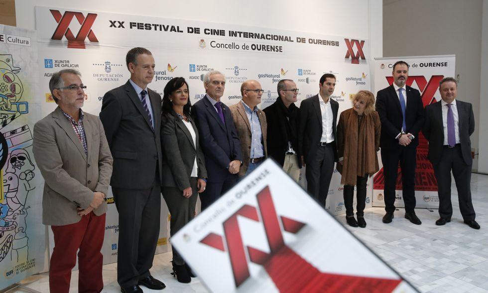 O Centro Cultural José Ángel Valente acolleu a presentación do programa do OUFF 2015.