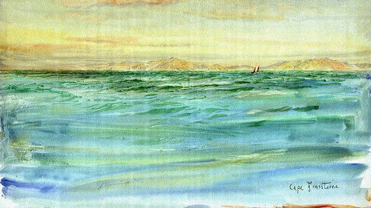 Una vista de Fisterra, por Wyllie