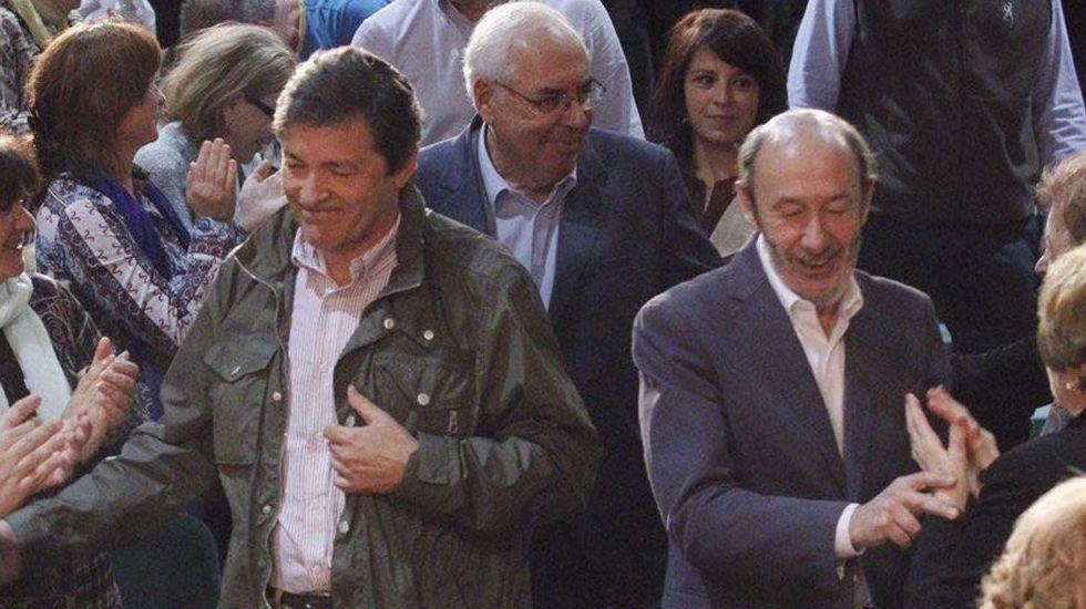 Javier Fernández, Areces, Lastra y Rubalcaba