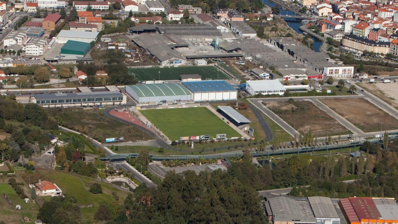 Campo municipal de O Carregal en el que se disputaba el encuentro
