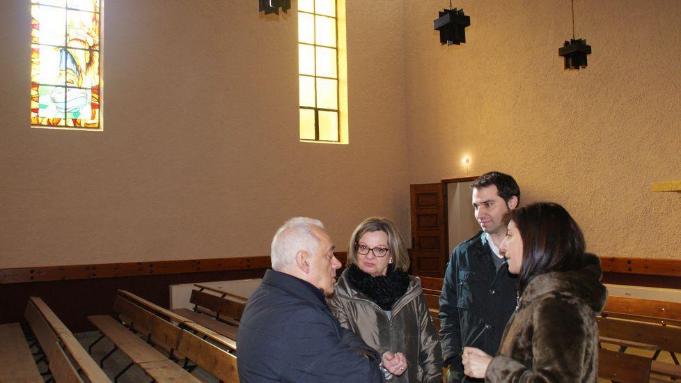 Con fondos del GDR se rehabilitó la iglesia de Sobradelo