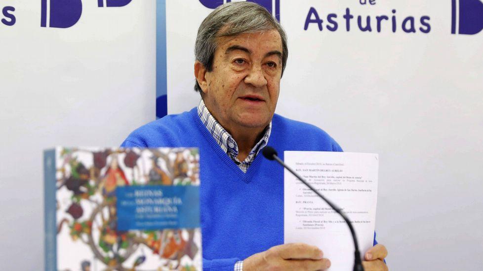 El presidente de Foro de Asturias, Francisco Álvarez-Cascos