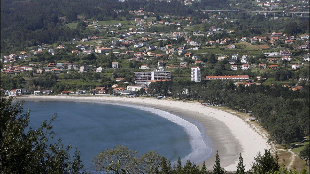 Las imágenes de las inundaciones en varias zonas de Ferrol