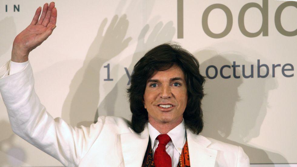 Camilo Sesto, en el 2010 en Madrid