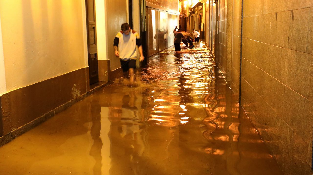 Xunqueira trata de recuperarse tras la riada que causó la muerte de una vecina