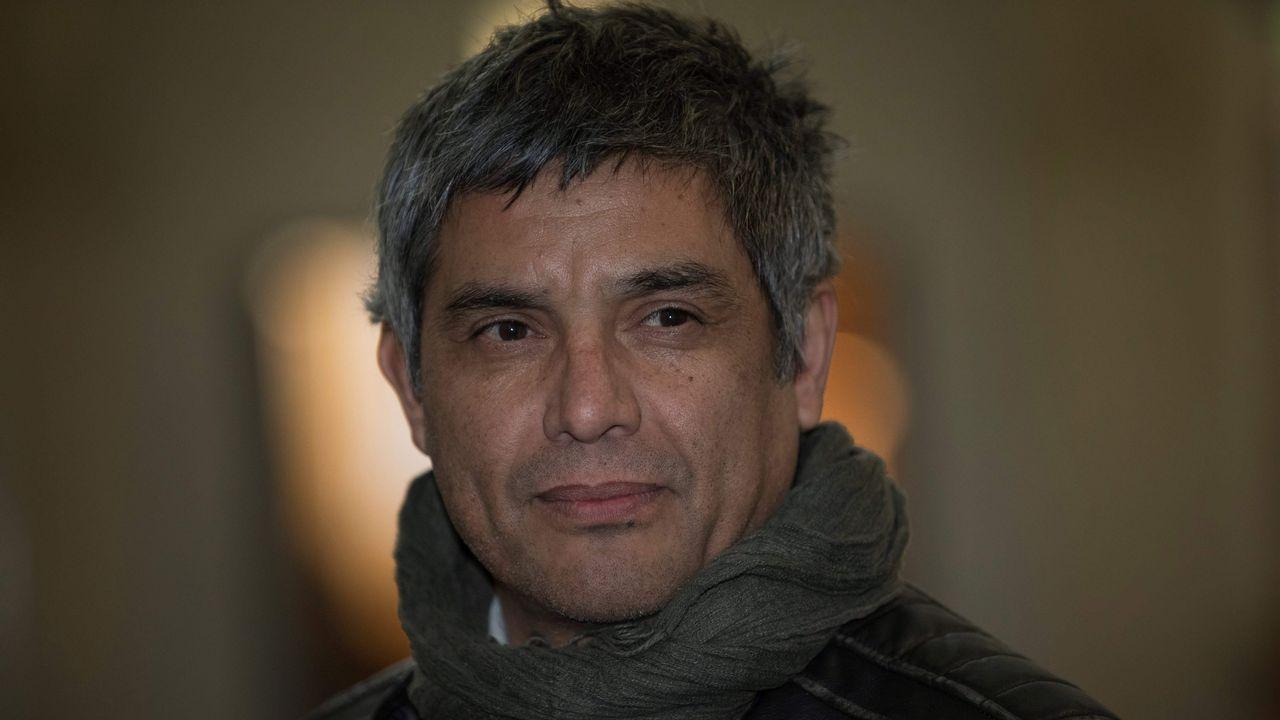 Vigilia por Julen y su familia.El exguerrillero chileno Ricardo Palma Salamanca