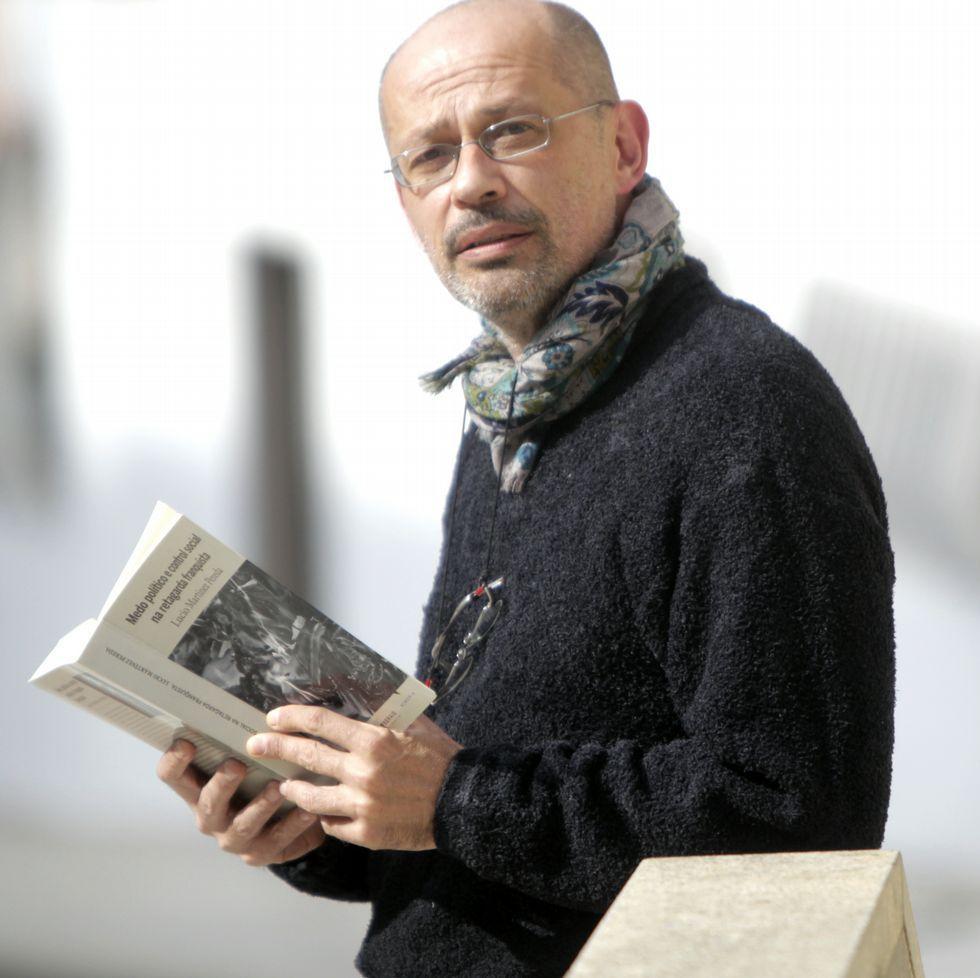 Lucio Martínez Pereda es profesor en el IES de Valadares.