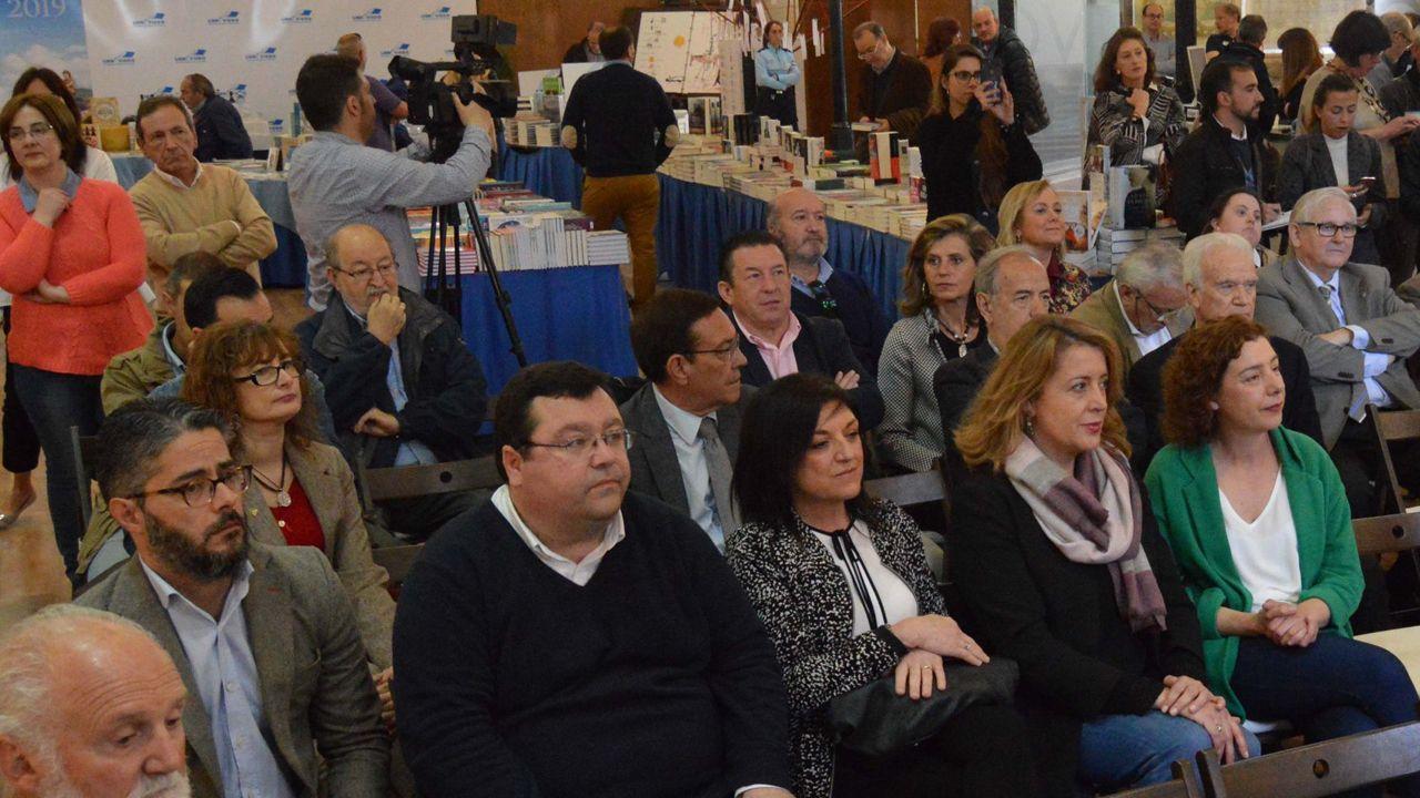 Entre el público se encontraban diferentes candidatos y políticos