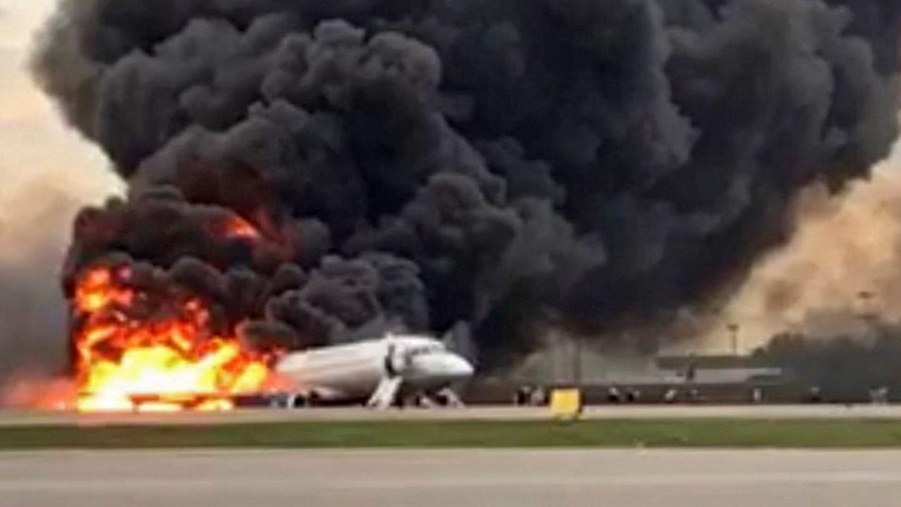 Las imágenes del accidente aéreo en Moscú.Los diputados realizaron más de trescientas salidas al extranjero en menos de tres años