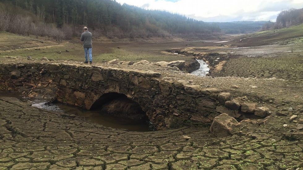 Imágenes de los efectos del temporal en Santiago y su comarca