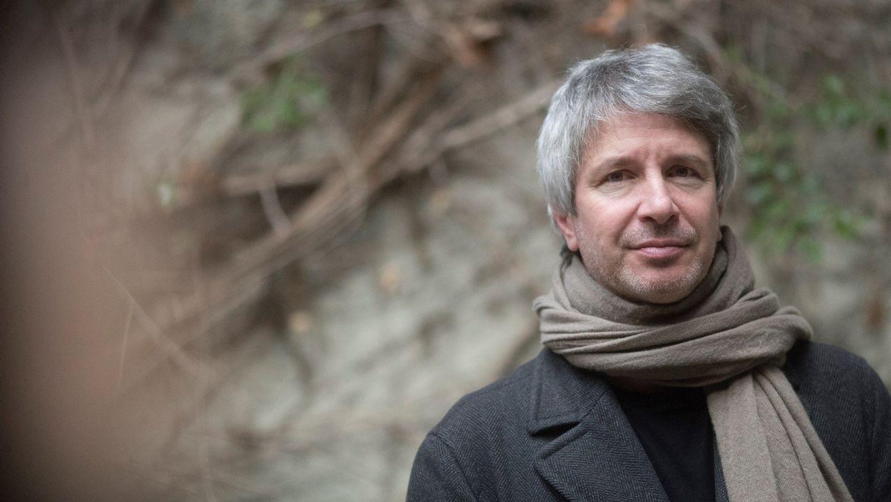 El escritor y cineasta francés Éric Vuillard, premio Goncourt en el 2017 por su novela «El orden del día»