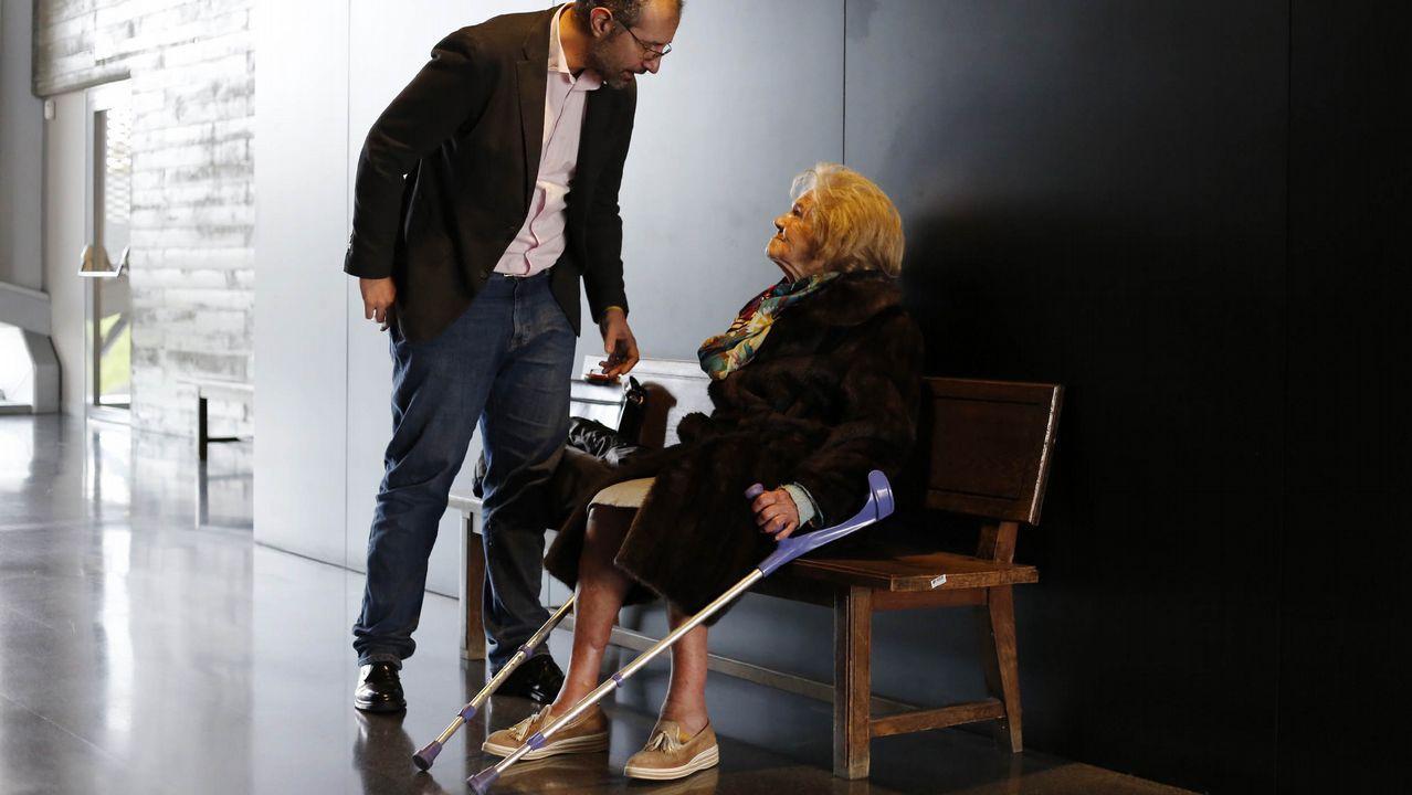 Lucila Vázquez, perjudicada por el acoso inmobiliario del que la fiscalía acusa a dos cargos de la Xunta