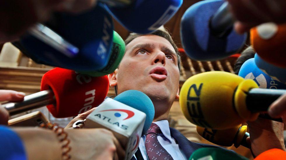 El presidente de Ciudadanos, Alberto Rivera