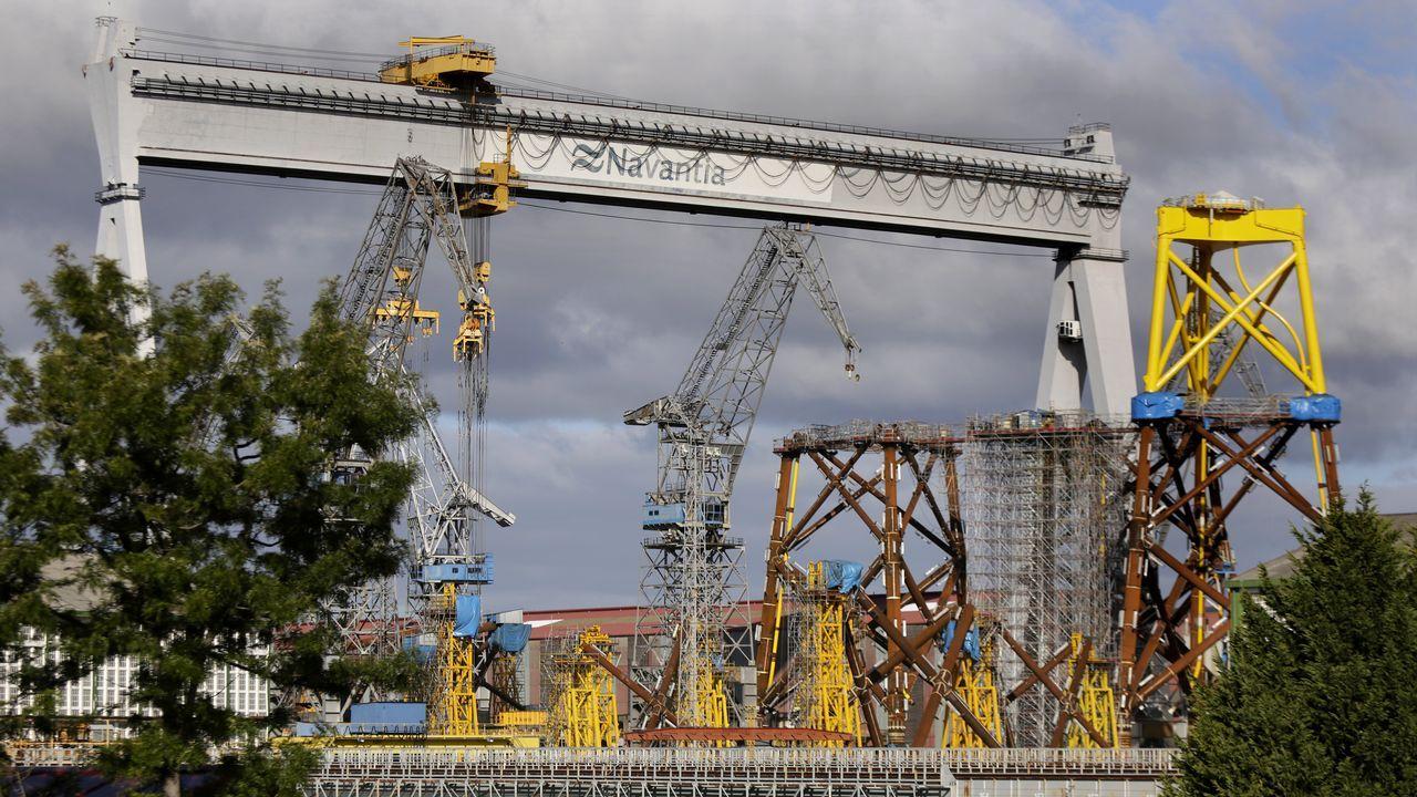 Fábrica de Arcelor en Tabaza.Fábrica de Arcelor en Tabaza