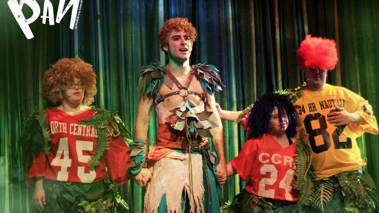Teatro Caracol representa Peter Pan