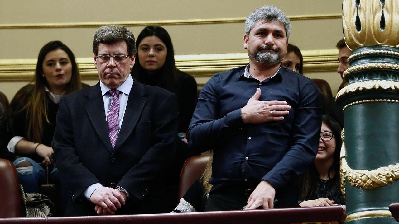 Santiago recuerda al pequeño Gabriel.VIEIRA DE LA RÍA FERROLANA DECOMISADA EN AROUSA