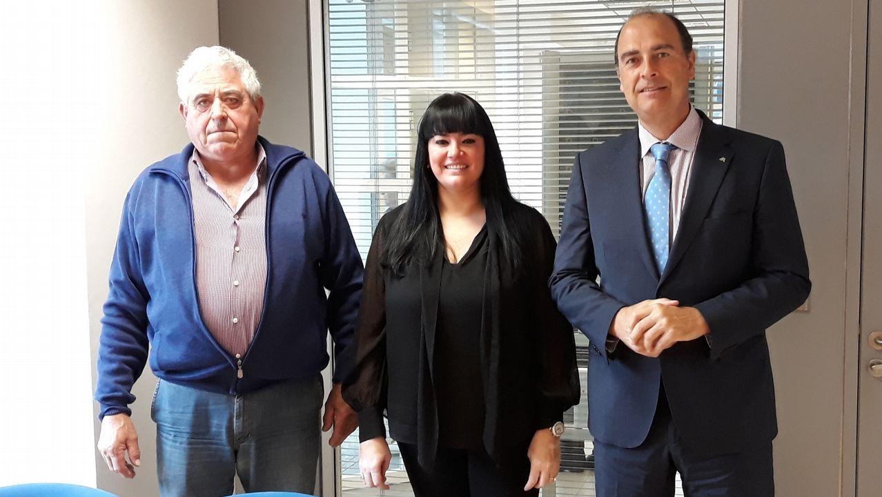 Entrevista a Carmen Moriyón, candidata de Foro a la presidencia del Principado.Los alcaldes de Ferrol, Santiago y A Coruña durante una comparecencia en 2016