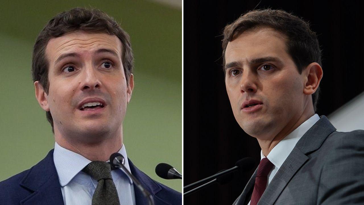 «¡La república no existe, idiota!».Pablo Casado y Alfonso Alonso