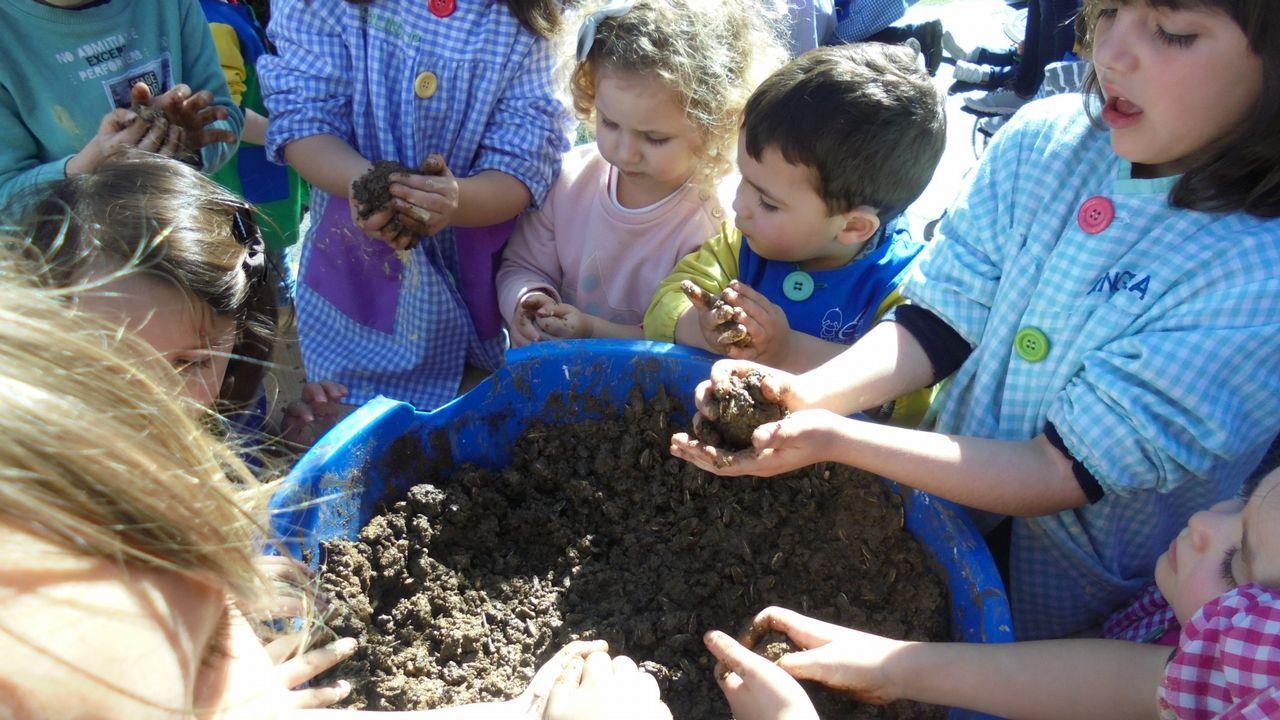 .Acitvidad del programa Voz Natura en la escuela infantil Elfos, en A Estrada
