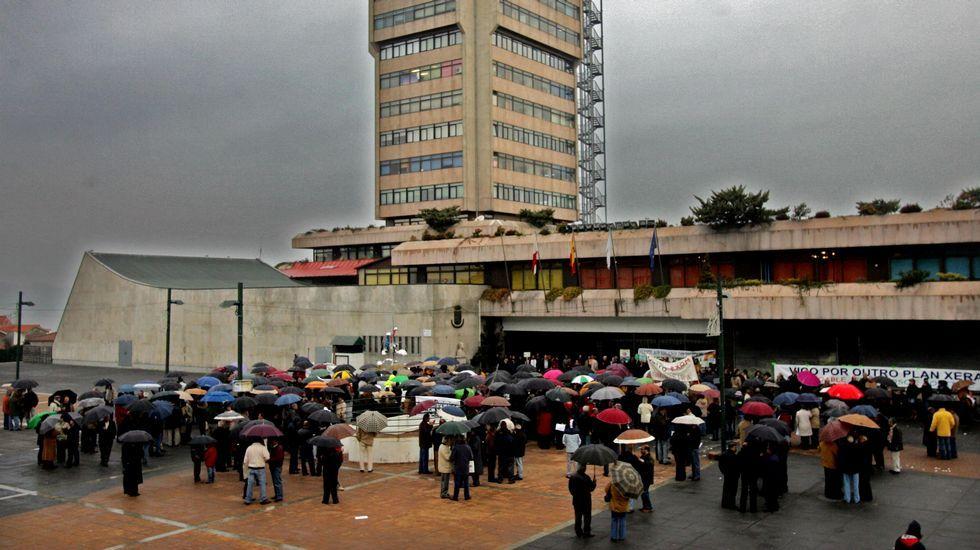 .Pleno de aprobación del Plan Xeral de Vigo en el año 2007