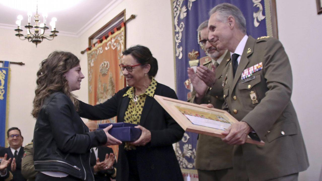 Conmemoración en Pontevedra del Día de la Subdelegación de Defensa.Ya se rueda la nueva serie de Voz Audiovisual que emitirá La 1: «Néboa»