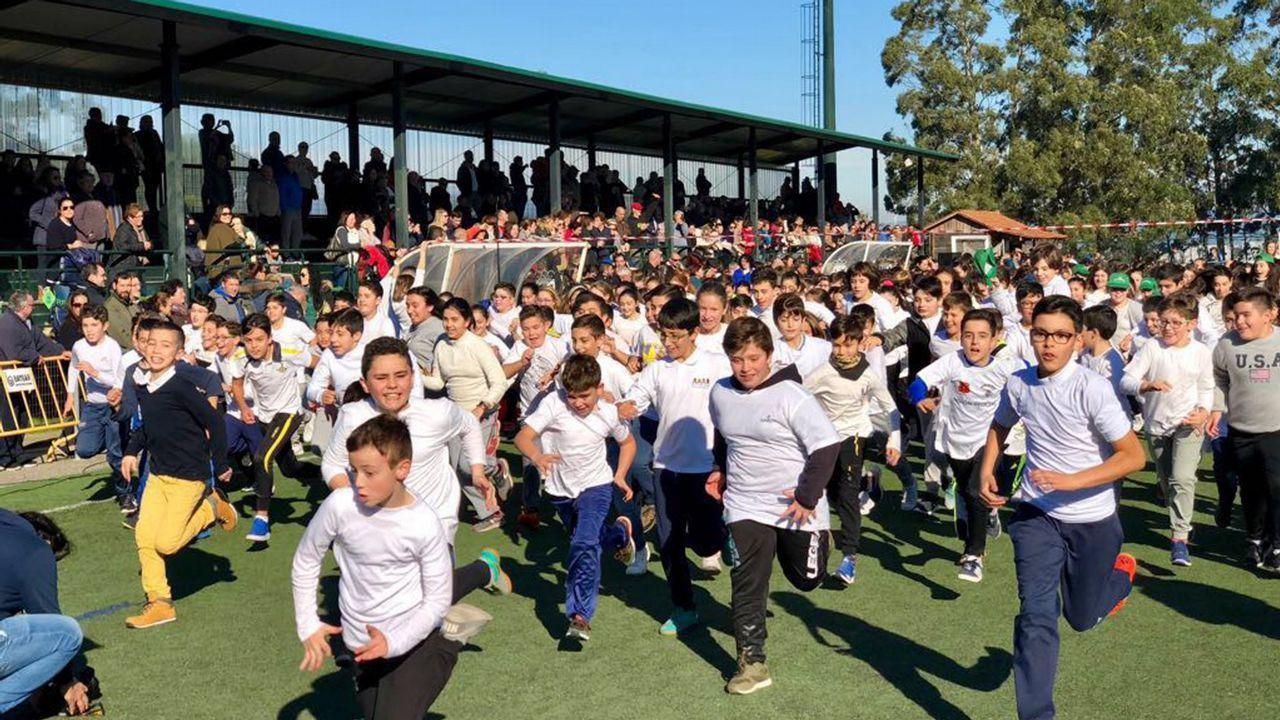 Los escolares de Vilanova celebran el Día de la paz