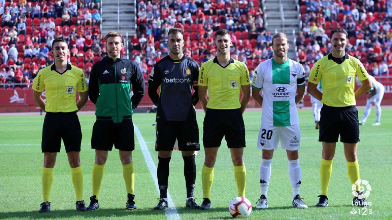 Moreno Aragon arbitro Mallorca Extremadura Son Moix