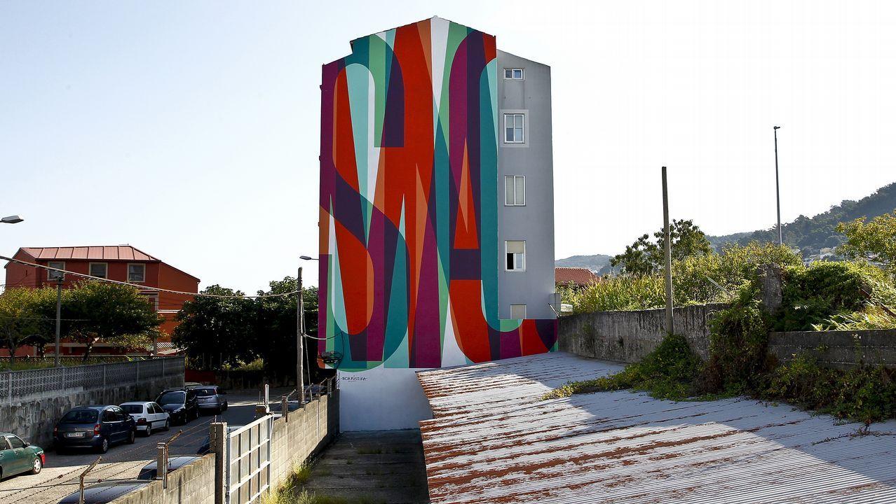 El edificio de Gerardo Campos, 8, esconde palabras de Xoel López