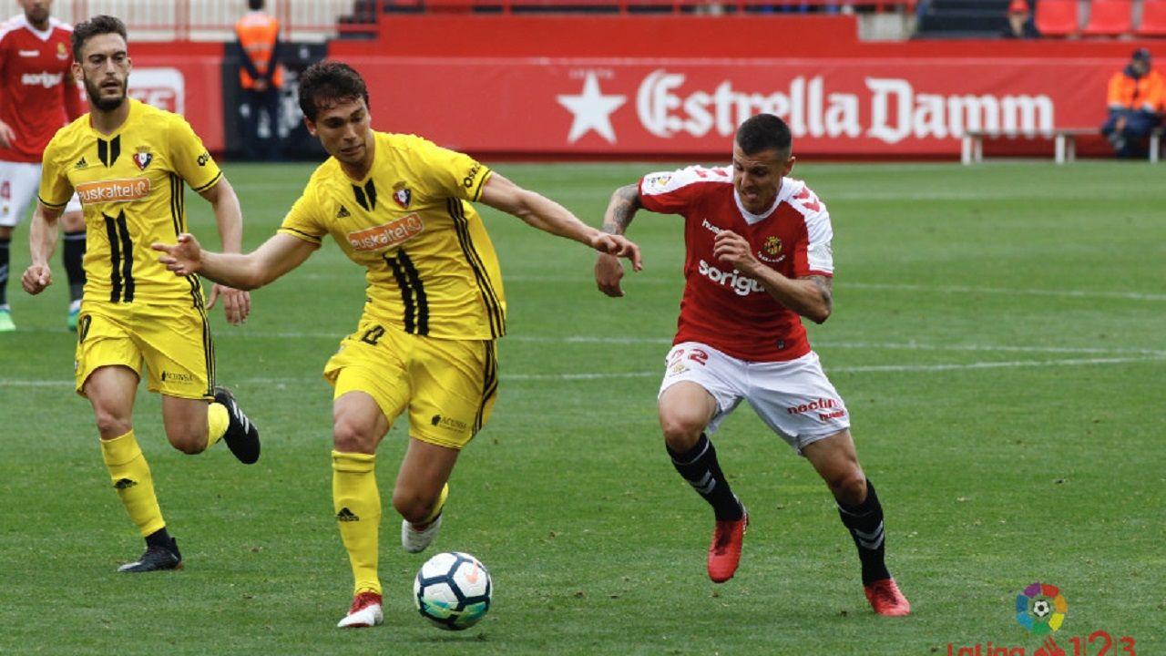 Lucas Torró en el Nàstic-Osasuna