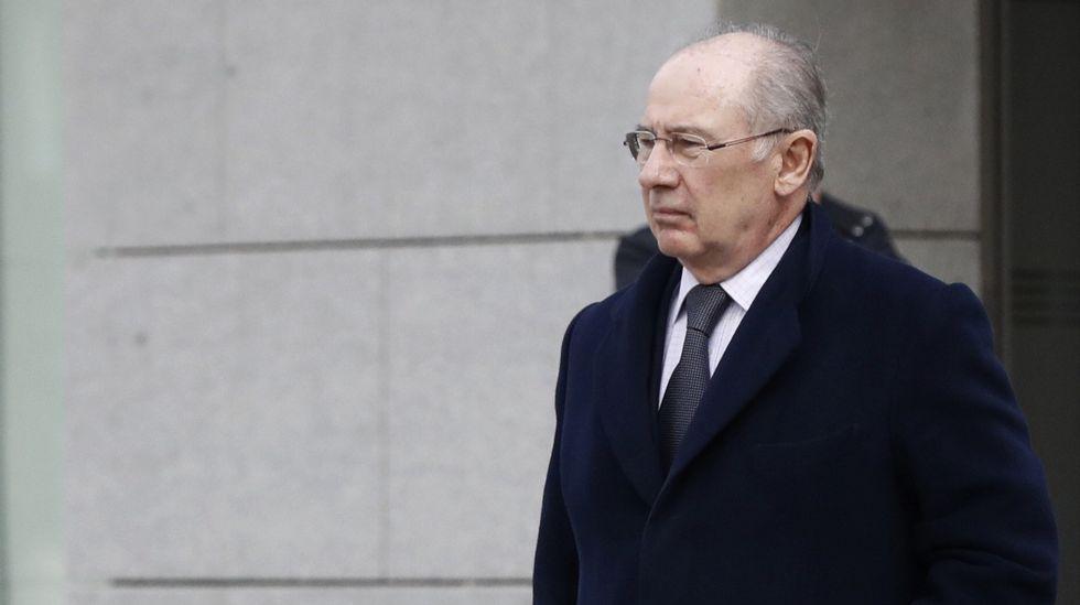 Hacienda ratifica el informe contra Rodrigo Rato ante el juez