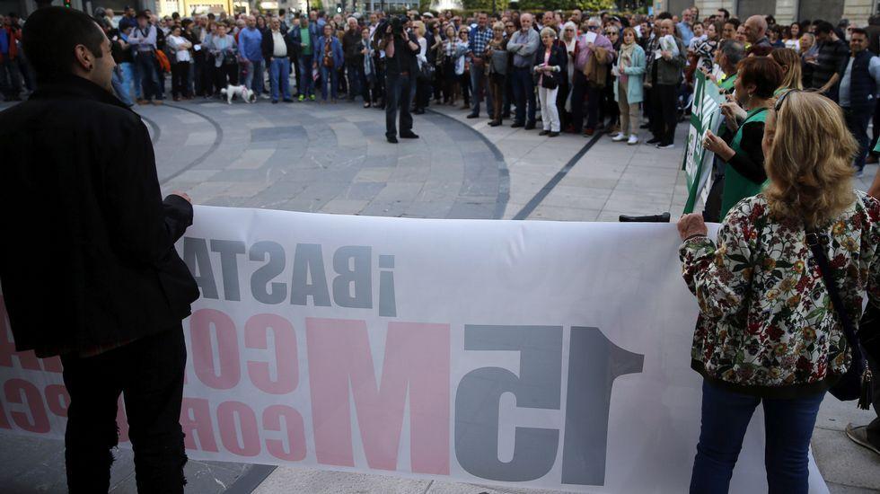 .Manifestación en Oviedo por el 15M